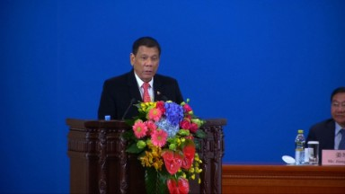 Philippine president declares 'separation' from US