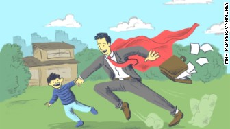 japanese super dad