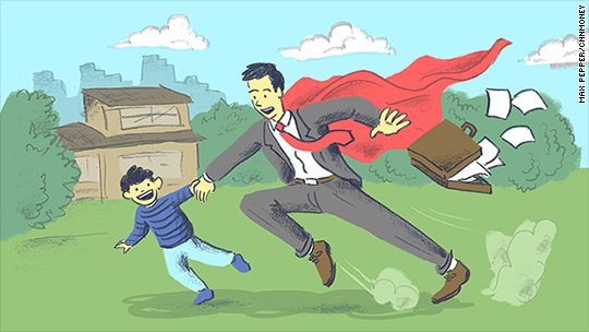 Training to be a 'super dad' in Japan