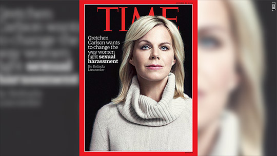 Gretchen Carlson: Sexual harassment is 'everywhere'