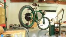 An e-bike with a retro feel