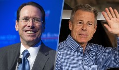 Time Warner, AT&T CEOs on $85 billion merger