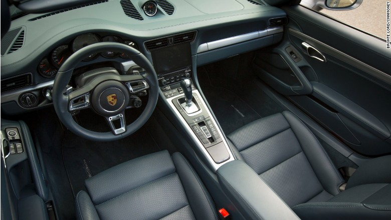 porsche 911 carrera 4s cabriolet interior