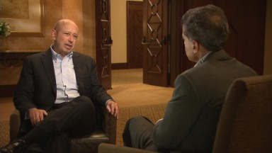 Blankfein: 'People should feel better' about the economy