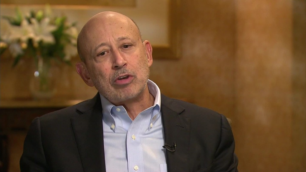 Goldman Sachs chief on holding banks accountable