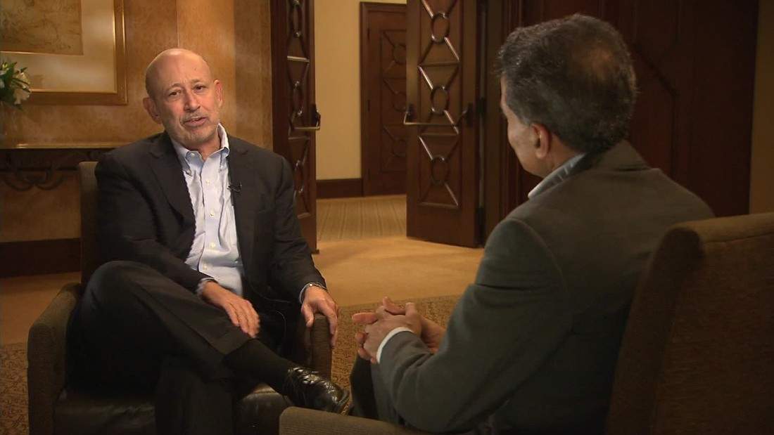 Goldman Sachs CEO on Hillary Clinton: 'Of course we engage' on policy