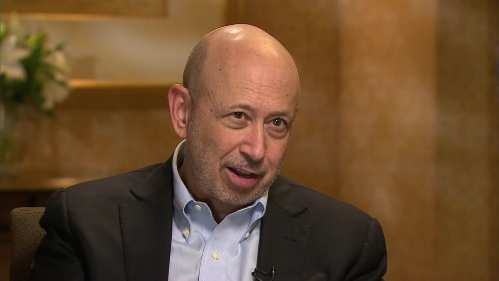 On GPS: Goldman Sachs CEO talks industry regulation