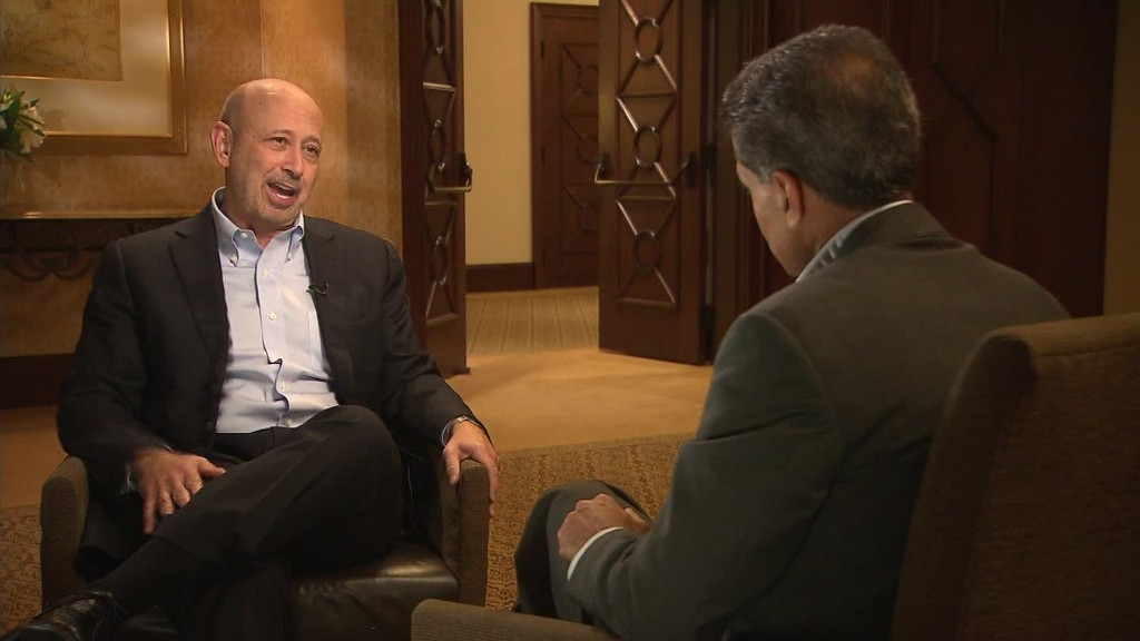 GPS Web Extra: Goldman Sachs CEO on contingency planning