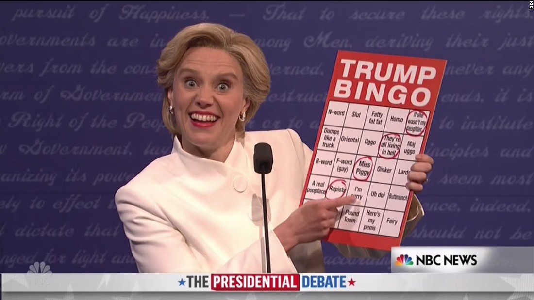 'Saturday Night Live' takes on the final presidential debate