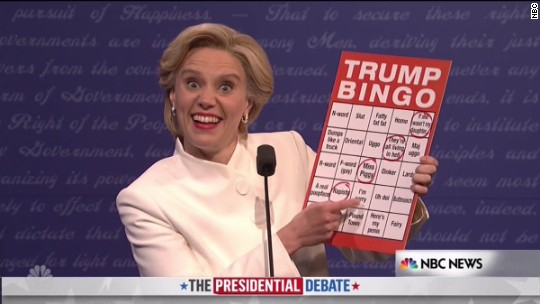 'Saturday Night Live' takes on the final debate