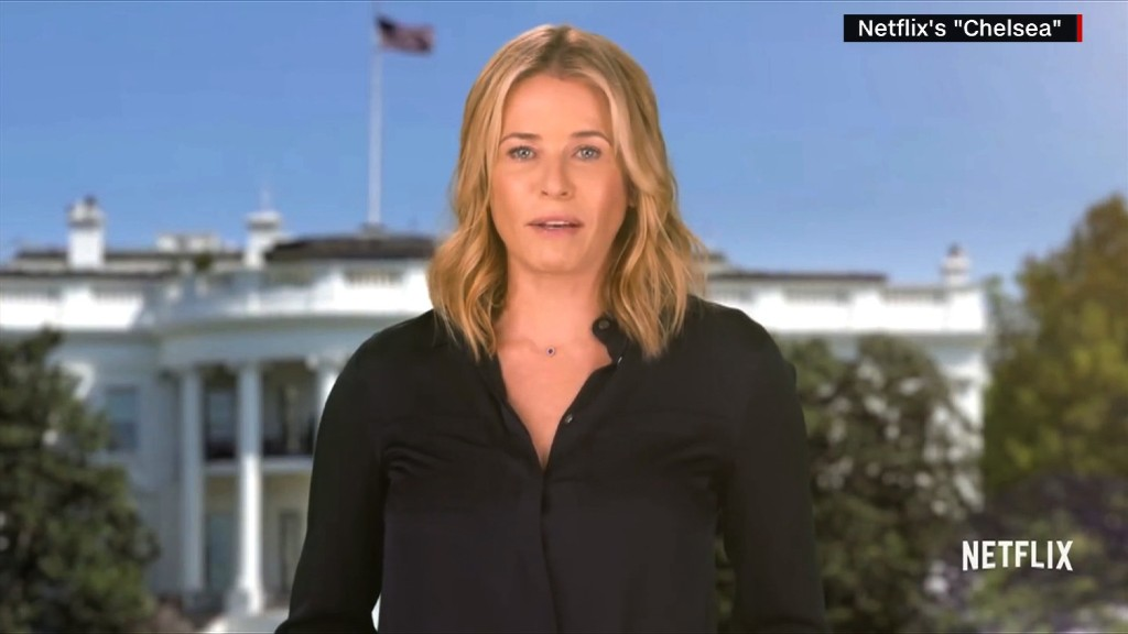 Chelsea Handler: 'I know what I want and I've asked for it'