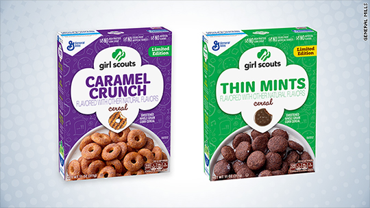 Girl Scout cookie cereal is a real thing and happening soon