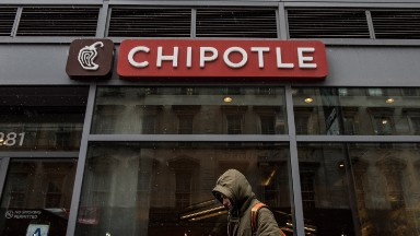 Chipotle sales down 22%. Customers still scared