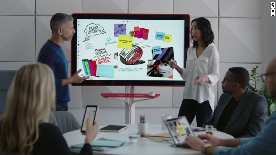 Google is making a high-tech whiteboard