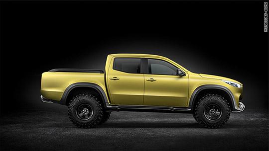Mercedes-Benz unveils first pickup truck