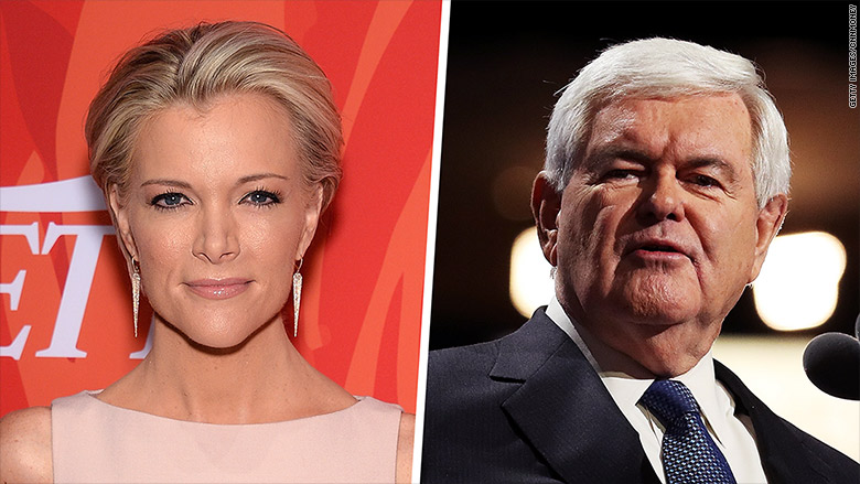 Megyn Kelly's epic clash with Newt Gingrich