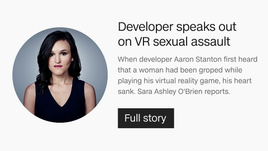 VR sexual assault