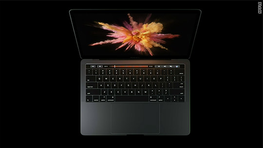 Apple unveils first MacBook Pro in four years