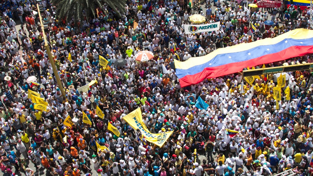 One dead, dozens injured in Venezuela protests