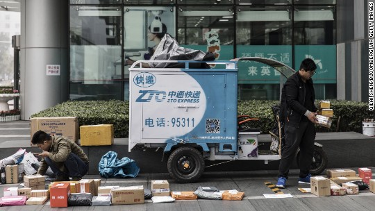 This year's biggest U.S. IPO is by a Chinese delivery firm