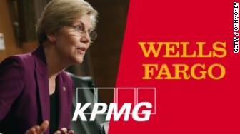 Elizabeth Warren KPMG Wells Fargo