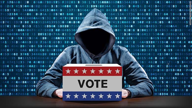internet attack election day