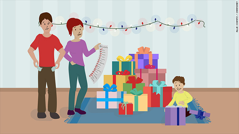 Here's how far parents will go to pay for holiday gifts