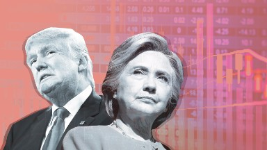 These stocks may be in trouble if Clinton wins
