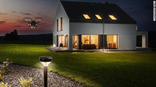 This drone will protect your house.