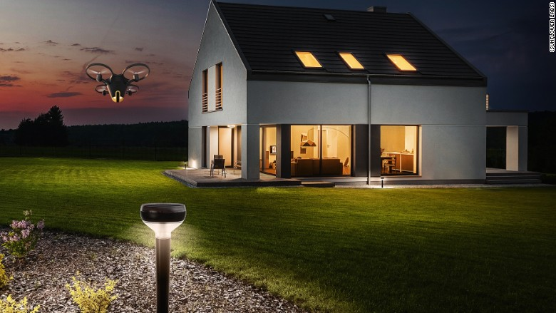 sunflower labs drone alarm