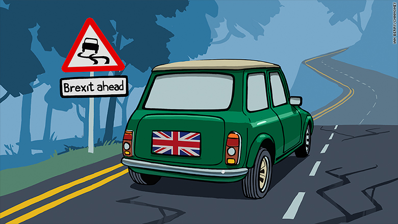 brexit road mini uk british auto car
