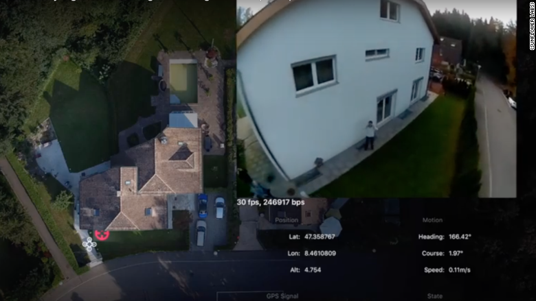 Forget Your Old Alarm System This Drone Will Protect Your House