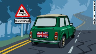 winding brexit road