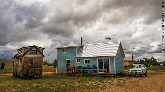 Tiny home living is having a moment