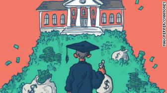 wealthy college endowment