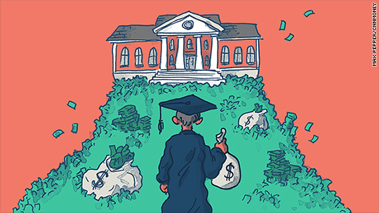 Now even high earners can't afford college