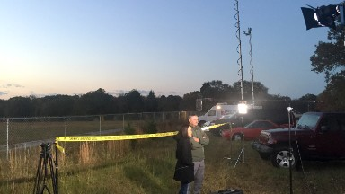 ABC News staged crime-scene shot, photograph shows