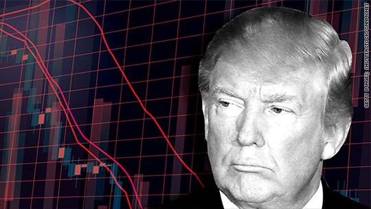 Wall Street is losing faith in the Trump agenda