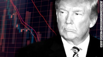 trump markets down