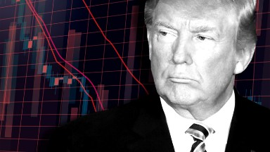 Wall Street is losing faith in the Trump agenda