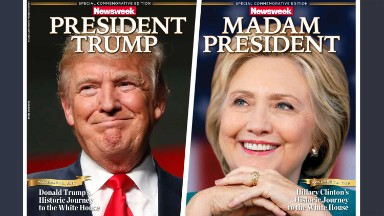 No, Newsweek's Clinton cover is not proof the election is rigged