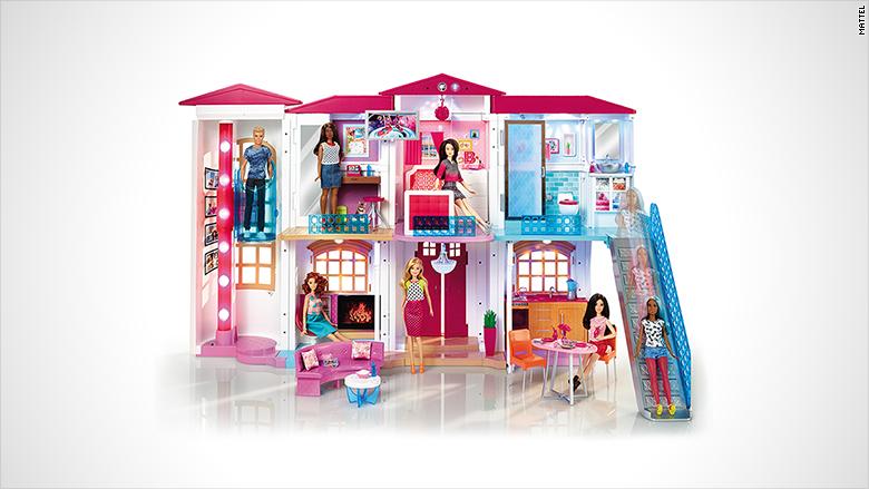 hot toys barbie smarthouse