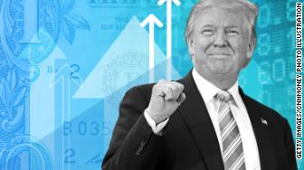 election2016 dollar up trump