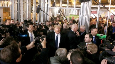 History and hyperbole: What young reporters witnessed covering Trump