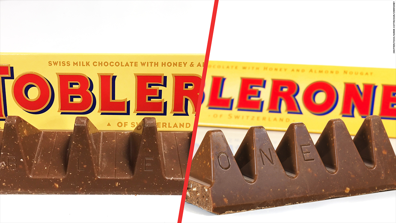 Toblerone is downsizing and fans are not happy - Video - Business News