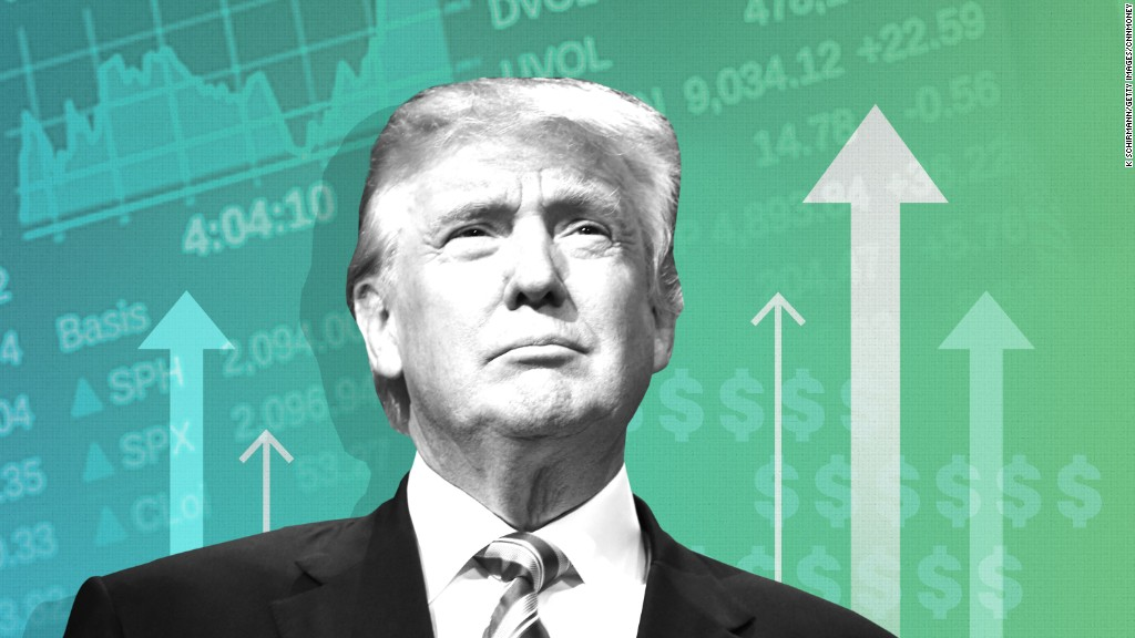 Image result for donald trump market up