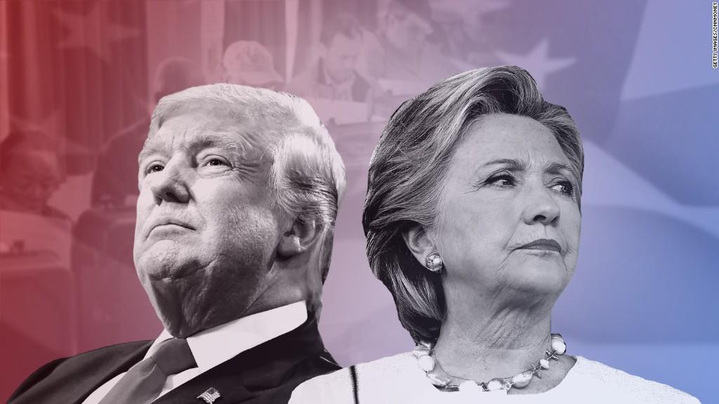 Clinton says the news media helped Trump win