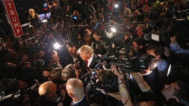 How politicians, pollsters and media missed Trump's groundswell