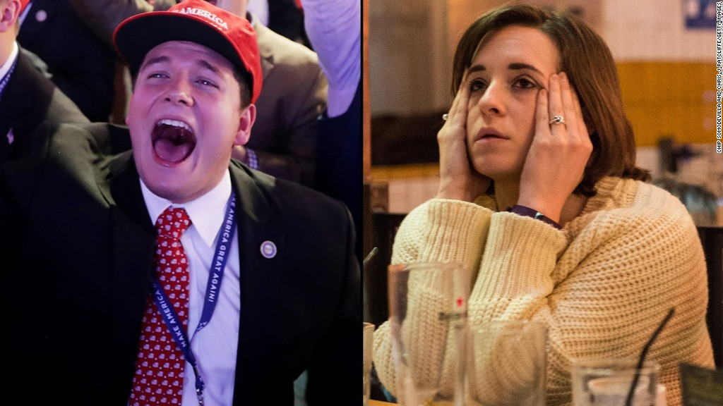 Relive the election night twists and turns in under 2 minutes