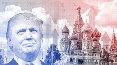 Russian stocks surging thanks to Trump and oil